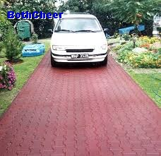 driveway rubber paver